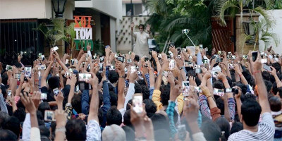 Terkait Virus Corona, Amitabh Bachchan Tunda Pertemuan Mingguan dengan Penggemarnya
