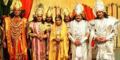 Di Tengah Lockdown, DD Tayang Ulang Serial Ramayana, Mahabharata dan Serial SRK 'Circus'