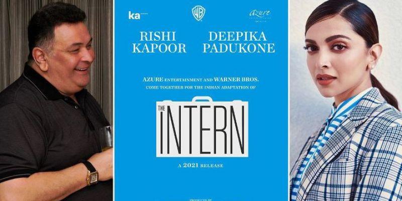 "Siapa Kira-kira Pengganti Rishi Kapoor Sebagai Pasangan Deepika Padukone di Remake ""The Intern""?"