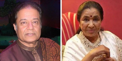 Anup Jalota dan Asha Bhosle Bersama 210 Penyanyi Adakan Konser Virtual