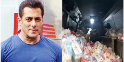 Idul Fitri, Salman Khan Bagikan Bahan Pembuatan Sheer Khurma untuk 5.000 Keluarga