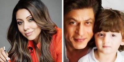 "Shah Rukh Khan dan Gauri Rayakan Ultah AbRam dengan ""Buku Horor"""