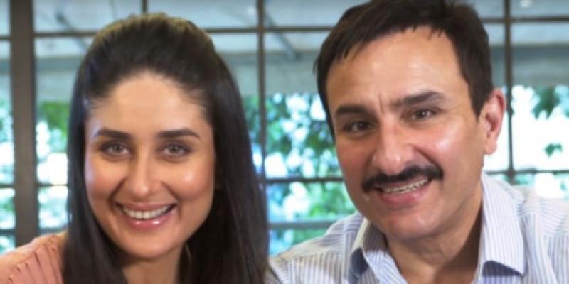 Pasangan Kareena Kapoor dan Saif Ali Khan Bintangi Produk Baru Johnson & Johnson