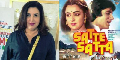 "Ditolak SRK dan Hrithik Roshan, Farah Khan Gagal Buat Remake ""Satte Pe Satta"""