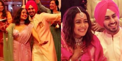 Penyanyi Neha Kakkar dan Rohanpreet Singh Menikah di Gurudwara di Delhi