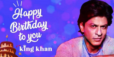 Hari Ini Shah Rukh Khan Genap 55 Tahun ...Happy Birthday King Khan!