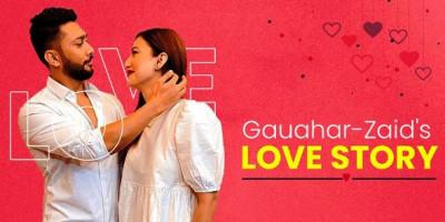 Kisah Cinta Gauahar Khan dan Zaid Darbar Bermula dari Tik Tok