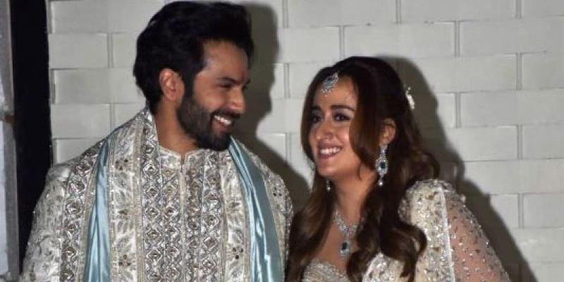 Inilah 10 Foto Eksklusif dari Pernikahan Varun Dhawan dan Natasha Dalal