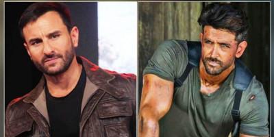 """Saif Ali Khan Patok Honor 24 M untuk Peran Polisi Lawan Gangster Hrithik Roshan di Film """"Vikram Vedha"""""""