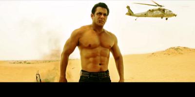 Pathan: Salman Khan Datang dengan Helikopter Selamatkan SRK ... Woww