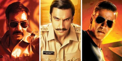 """Ketika 3 Polisi Main Bareng, Ajay Devgn, Ranveer Sing dan Akshay Kumar dalam """"Sooryavanshi"""", Apa yang Akan Terjadi"""