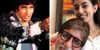 """Ketika Amitabh Bachchan Unggah Foto Kenangan dari Filmnya """"Naseeb"""", Ini Reaksi Sang Cucu"""