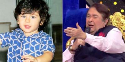 Randhir Kapoor Dapat Hadiah Kejutan dari Sang Cucu Taimur Ali Khan di Lokasi Syuting Indian Idol 12