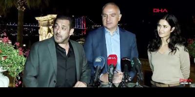 Viral Foto Salman Khan dan Katrina Kaif Bertemu Menteri Kebudayaan dan Pariwisata Turki