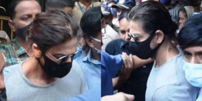 Viral Video Pertemuan Shah Rukh Khan dan Putranya Aryan Khan di Penjara